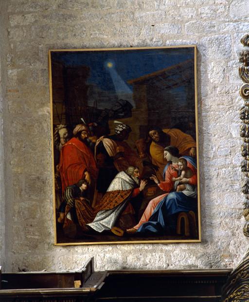 Tableau : Adoration des Mages