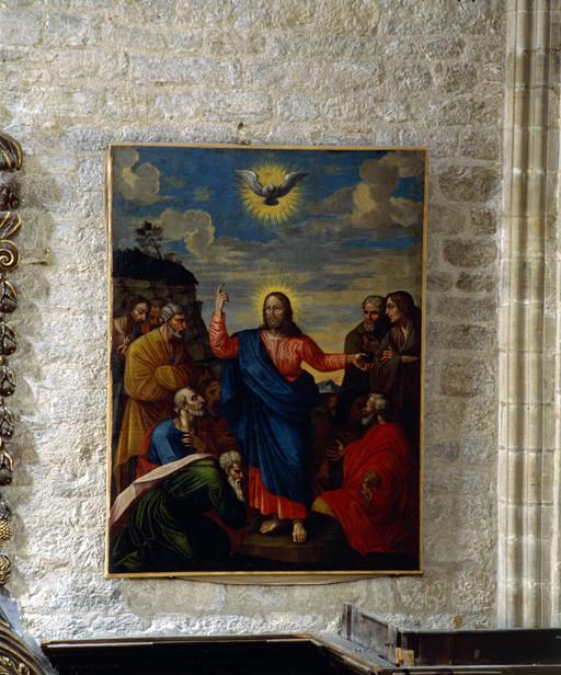 Tableau : Jésus et les Apôtres