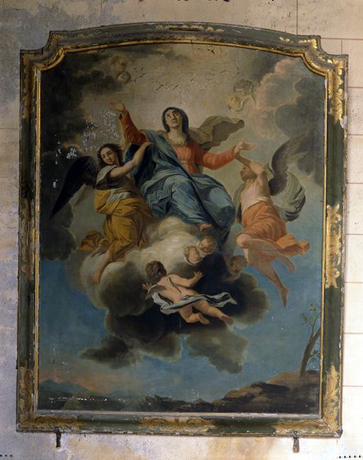Tableau : Assomption de la Vierge