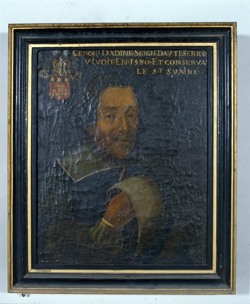 Tableau : Portrait de Géron Dadine de Hauteserre