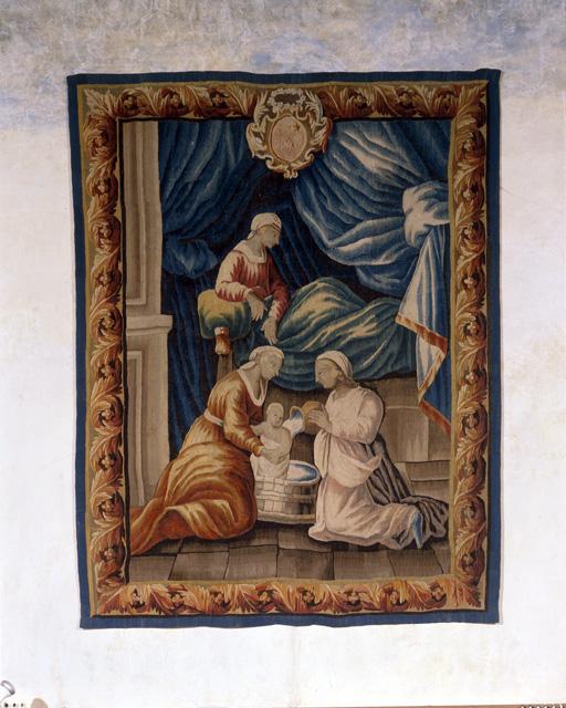 Pièce murale : Nativité de la Vierge