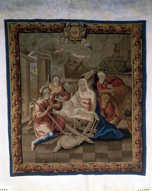 Pièce murale : Adoration des Bergers