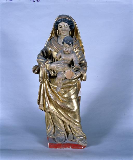 statue : Vierge à l'Enfant (1)
