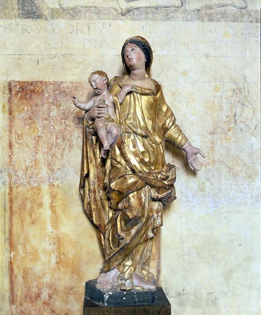 statue : Vierge à l'Enfant (2)