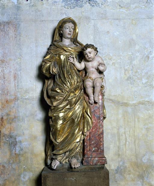 Statue : Vierge à l'Enfant (3)
