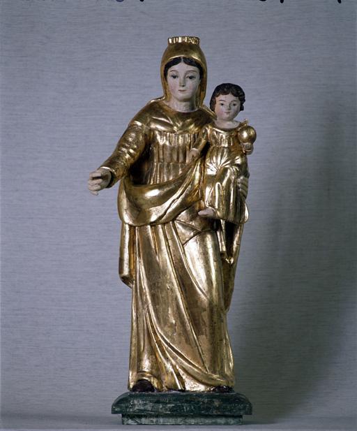 Statue : Vierge à l'Enfant (4)
