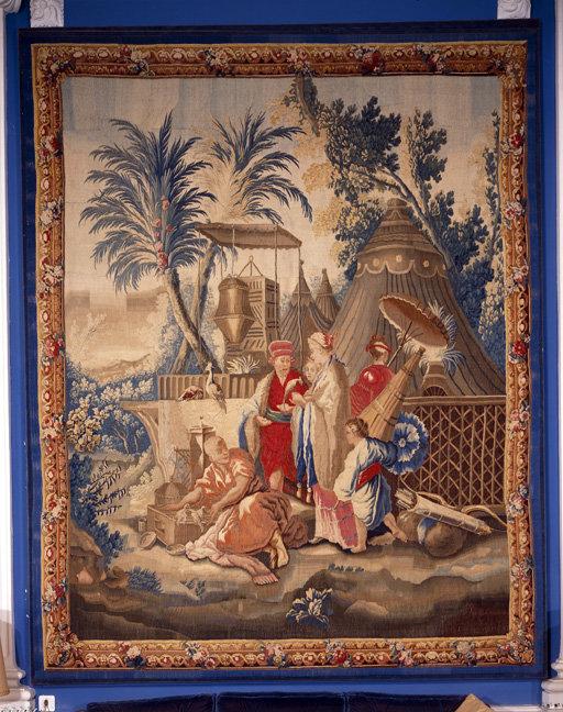 Pièce murale : Marchand d'oiseaux