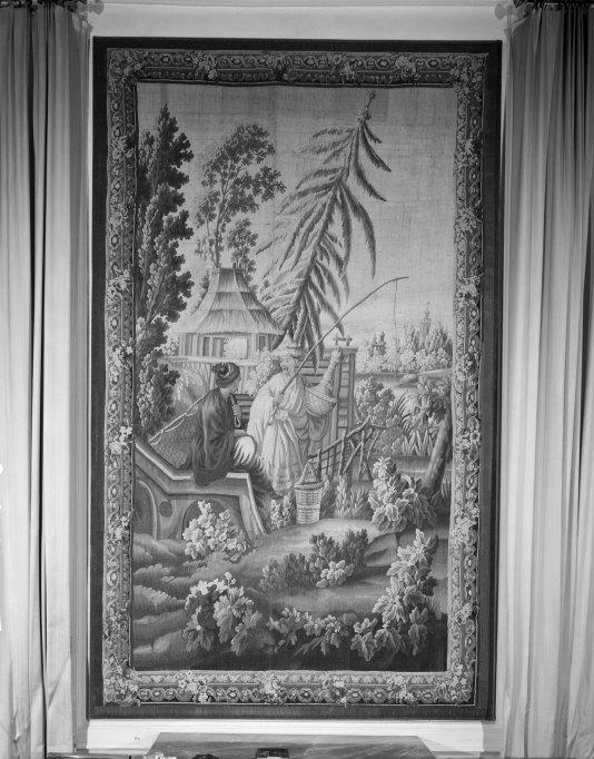 Pièce murale : Scène de pêche