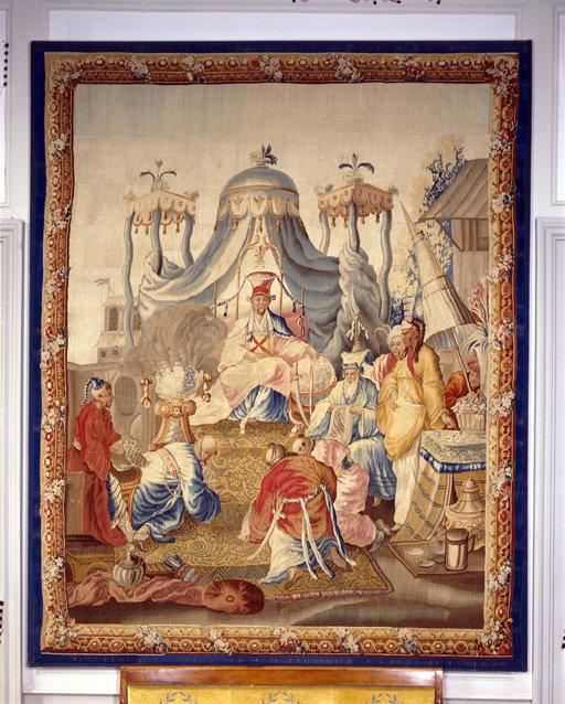pièce murale : Témoignage et soumission au Prince ; Audience