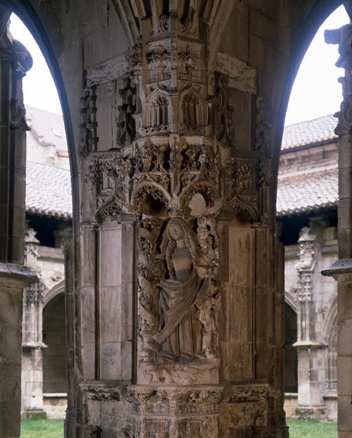haut-relief : Vierge de l'Annonciation