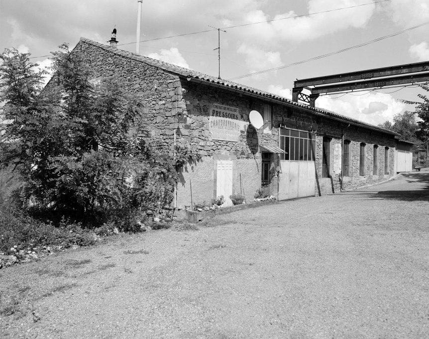 Ancienne usine de broderie mécanique, actuellement maison