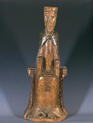 Statue (petite-nature) : Vierge