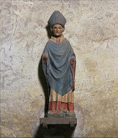 Statue (demi-nature) : Saint évêque