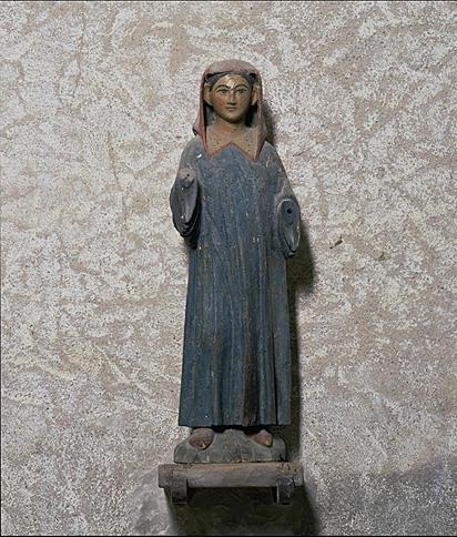 Statue (statuette) : Saint moine (?)