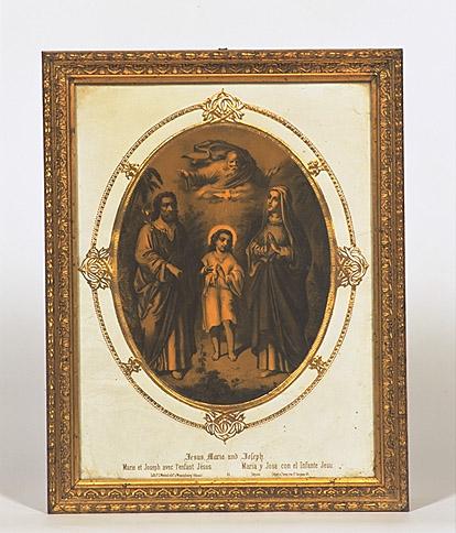 Estampe : Sainte Famille