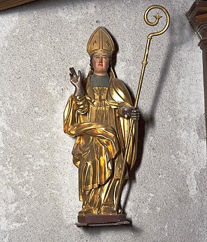 Statue : saint Ebons