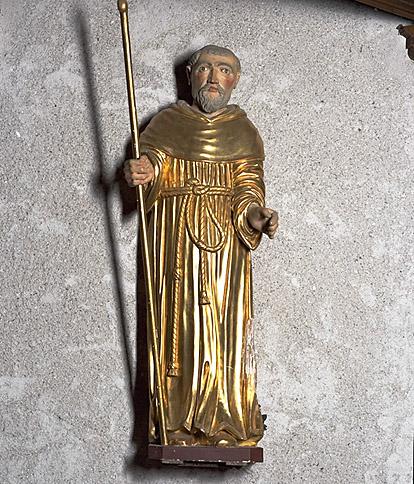 Statue : saint Benoît de Nursie