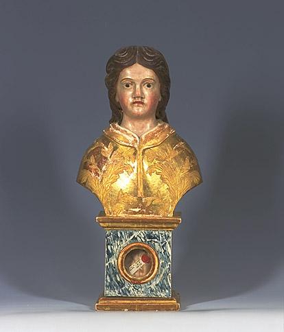 Buste-reliquaire de saint Just