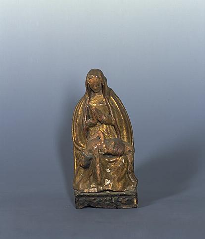 Groupe sculpté : Vierge de Pitié (n° 3)
