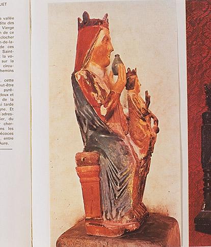 Statue : Vierge à l'Enfant, dite Notre Dame de la Sède ou Vierge au biberon
