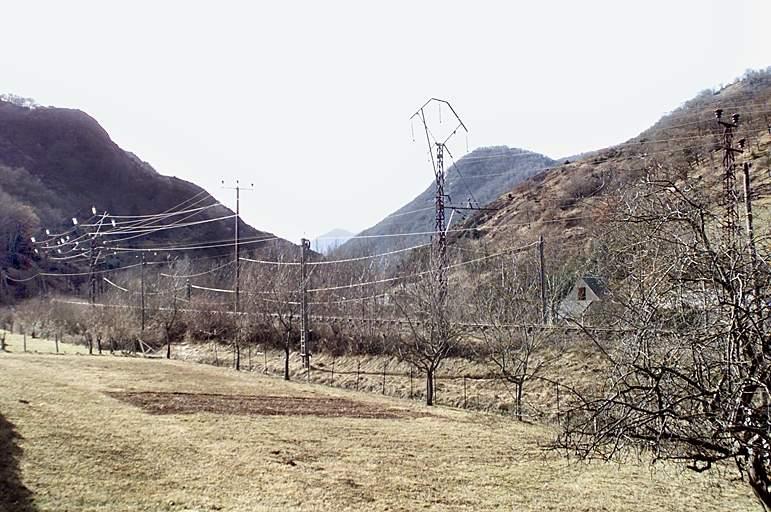 Voie ferrée : ligne Lannemezan-Arreau