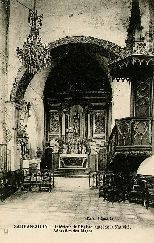 Prieuré de bénédictins, église paroissiale Saint-Pierre, Saint-Ebons