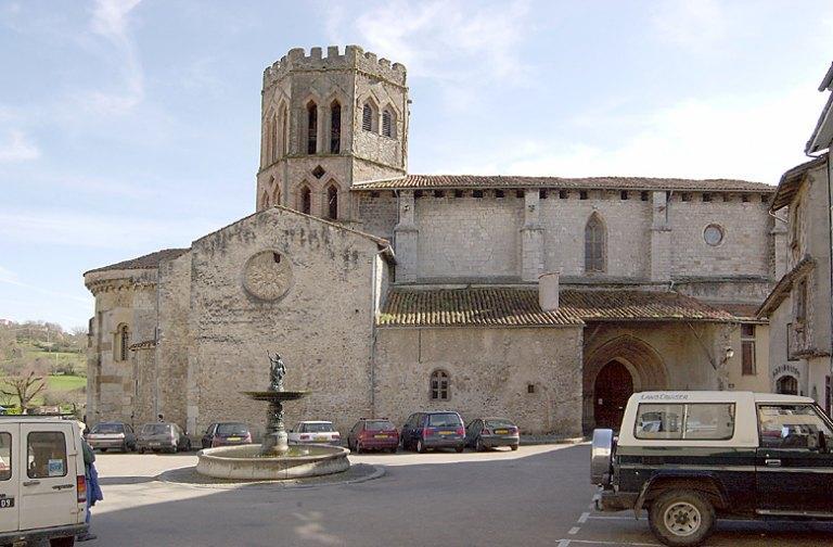 Cathédrale Saint-Lizier actuellement église paroissiale