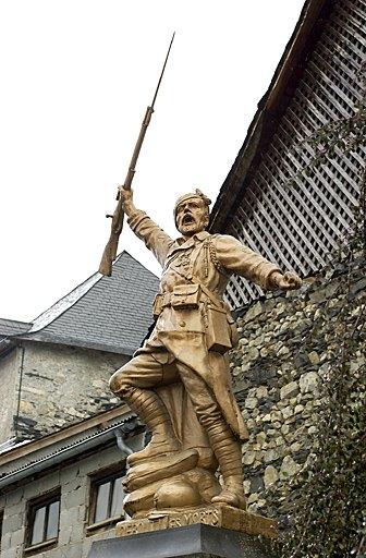 sculpture de la guerre de 1914-1918