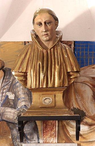 Buste-reliquaire : Saint Anastase