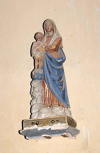 Statue (petite nature) : Vierge à l'Enfant dite Notre-Dame-des-Victoires