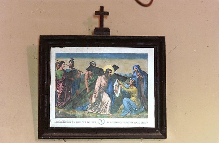 Chemin de croix et son cadre