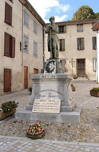 Monument aux morts de la guerre de 1914-1918 et de la guerre de 1939-1945
