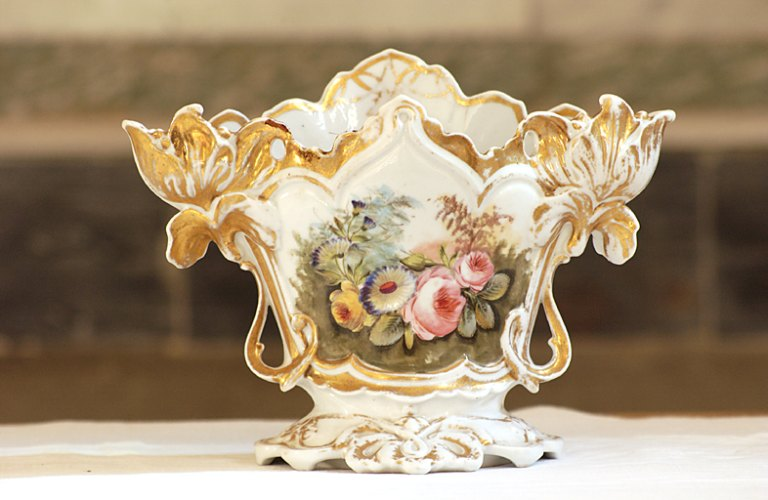 vase d'autel, de style néo-rocaille
