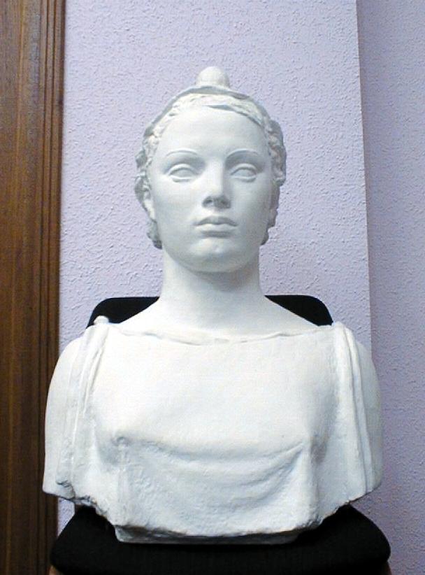 buste à mi-corps : Marianne