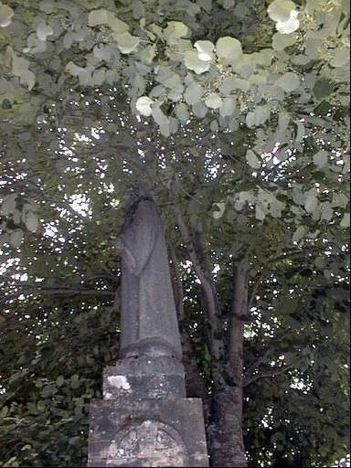 statue (colossal) : Christ du Sacré-Coeur