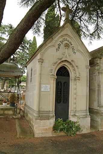 tombeau de la famille Guillaume Calvet