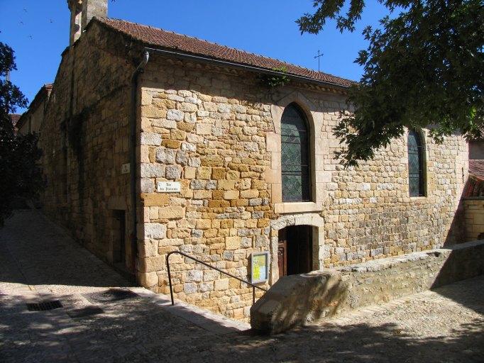 maisons puis chapelle Saint-Michel