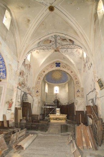 Peintures monumentales de l'église