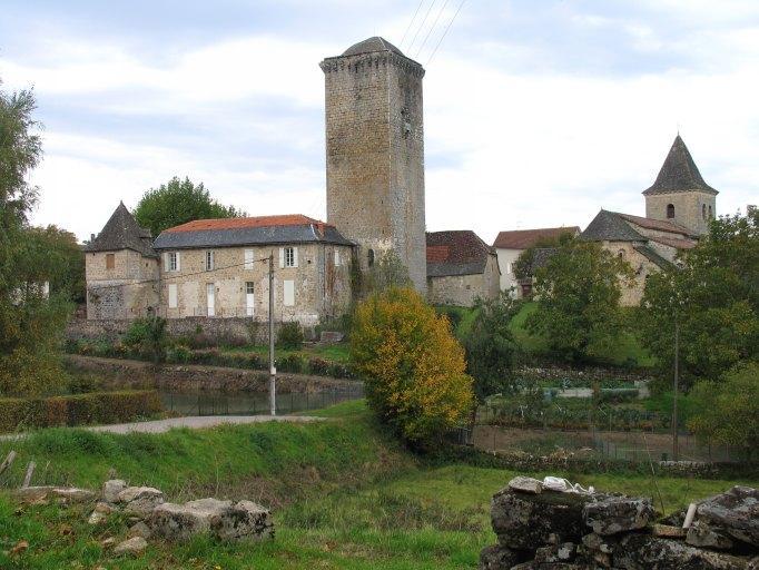 château fort, dit Tour de Teyssieu