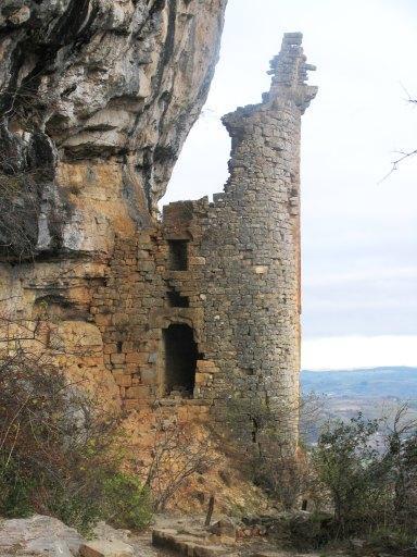 Château fort de la Roque d'Autoire, dit château des Anglais