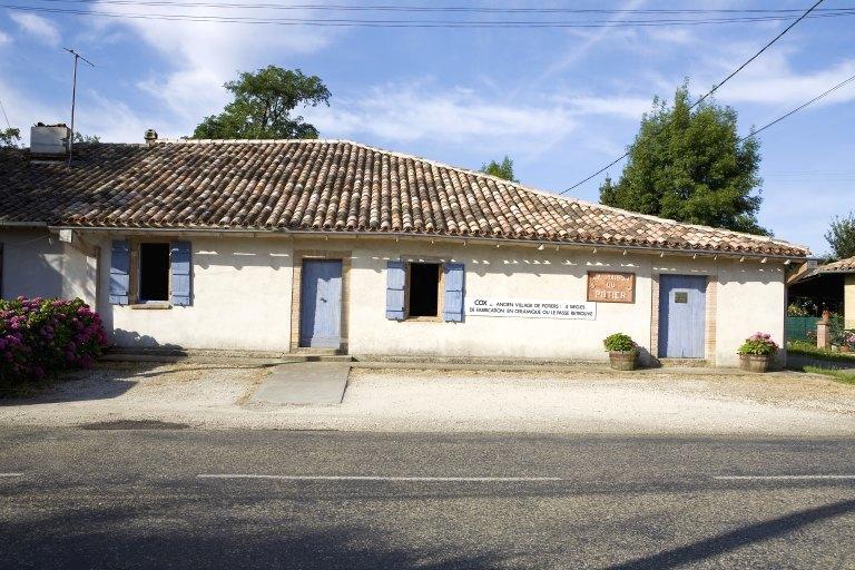 maison puis usine de poterie Laballe, actuellement musée de la Maison du potier