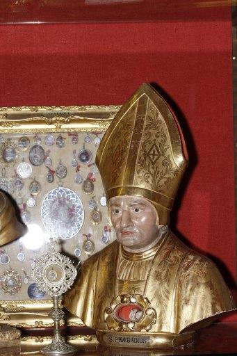 Buste-reliquaire de saint Phébade