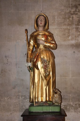 statue de sainte Germaine