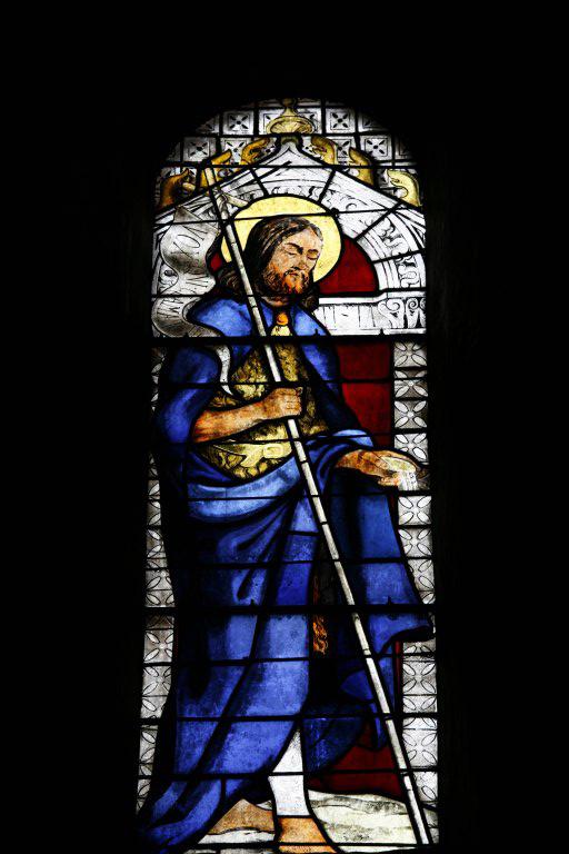 verrières avec saints et apôtres