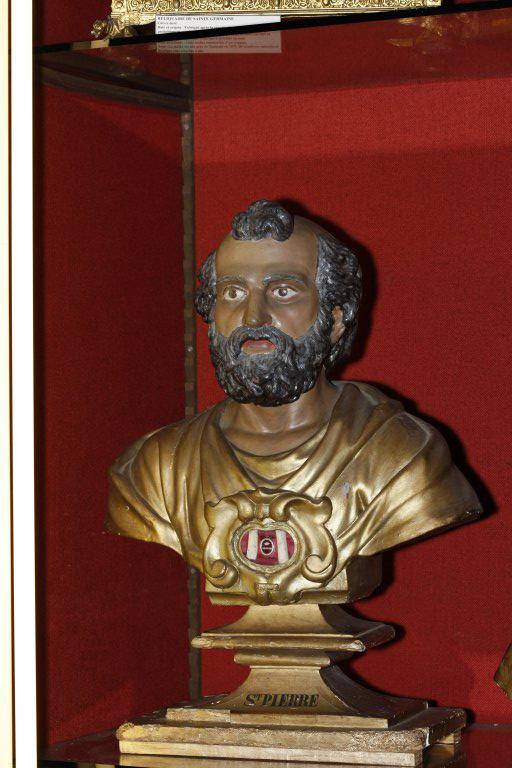 Buste-reliquaire de saint Pierre