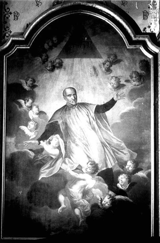 Tableau : Gloire de saint Vincent de Paul