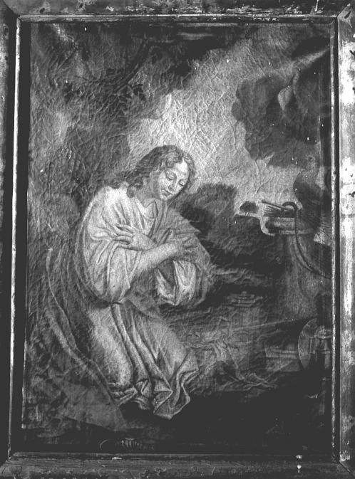 Tableau : Méditation devant les instruments de la Passion