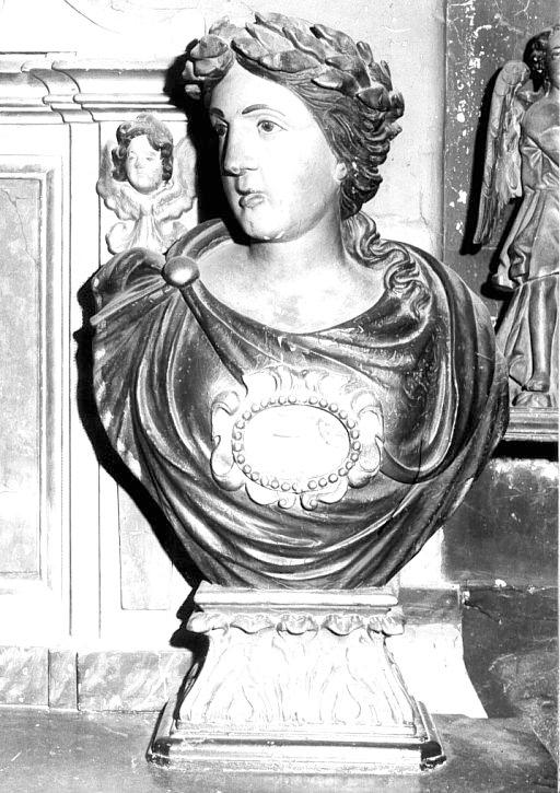 Ensemble de deux bustes-reliquaires, dit buste à l'antique