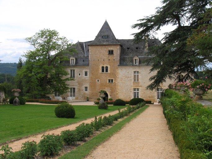Jardin d'agrément du château de la Treyne
