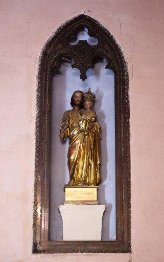 statue de saint Joseph et l'Enfant Jésus